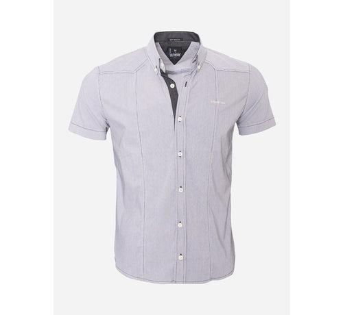 Arya Boy Overhemd Korte Mouw  13Y858 White