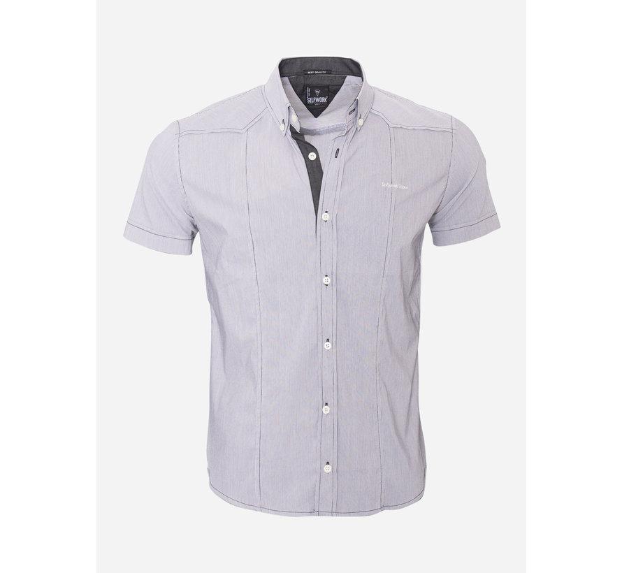 Overhemd Korte Mouw  13Y858 White
