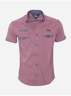 Arya Boy Shirt Short Sleeve 14Y1455 Red