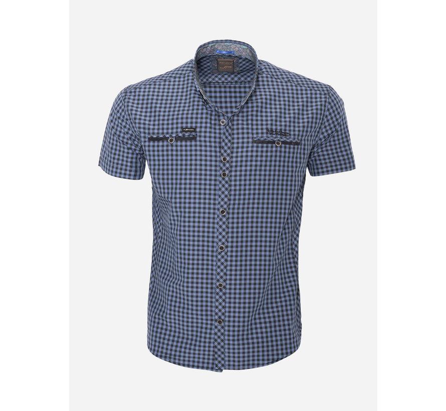 Overhemd Korte Mouw 15Y7523 Navy