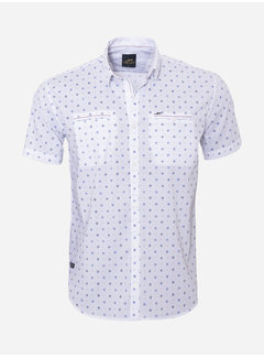 Arya Boy Shirt Short Sleeve 17Y1427 White