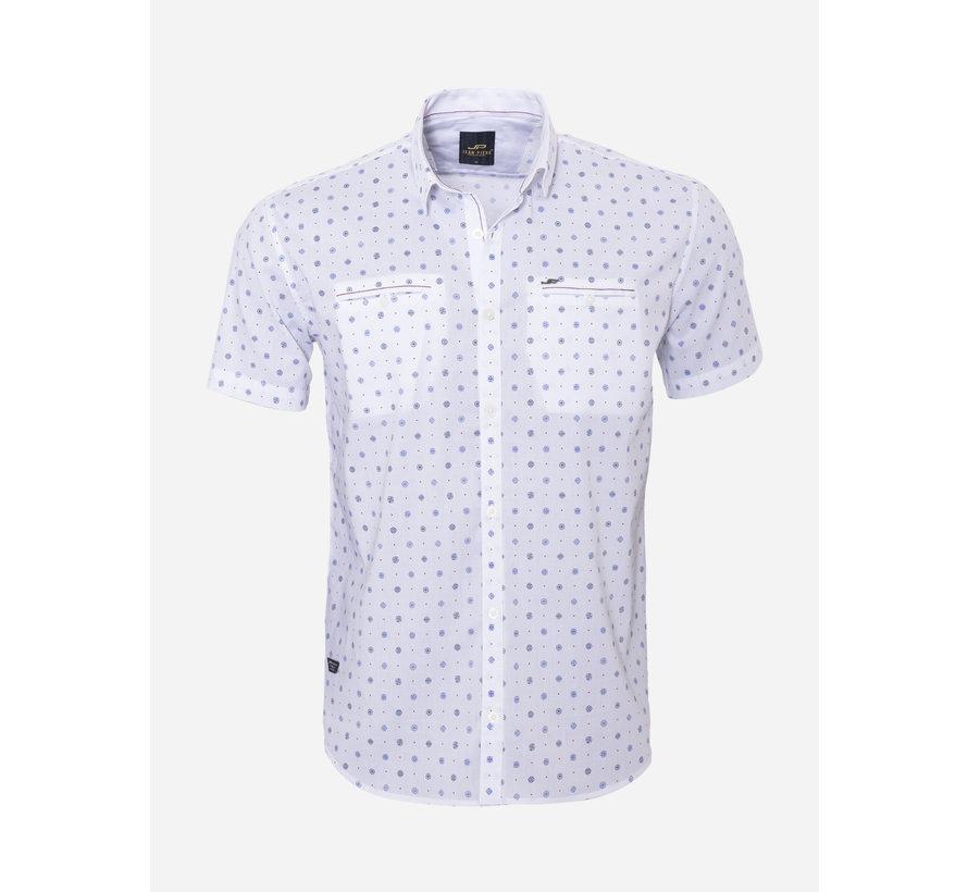 Overhemd Korte Mouw 17Y1427 Wit