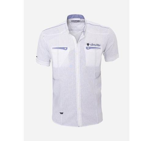 Arya Boy Overhemd Korte Mouw  17Y1452 White
