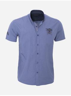 Arya Boy Overhemd Korte Mouw 17Y1461Indigo
