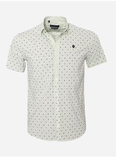 Arya Boy Shirt Short Sleeve 17Y1465 Bat Mintol