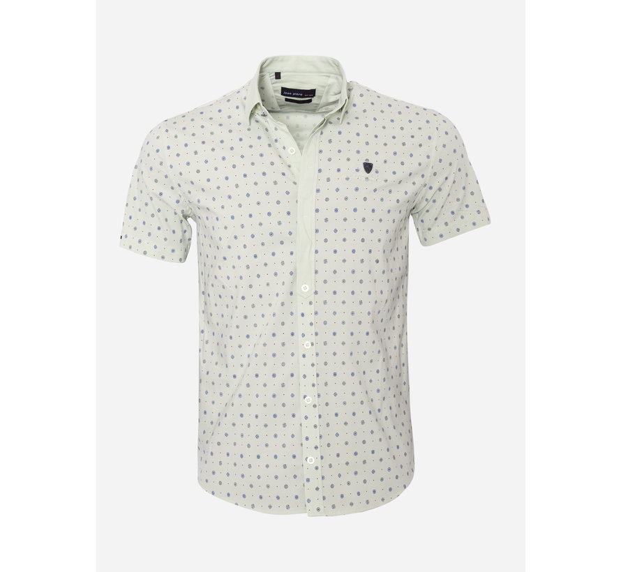 Overhemd Korte Mouw 17Y1465 Bat Mintol