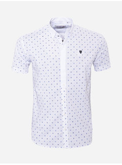 Arya Boy Shirt Short Sleeve 17Y1465 White