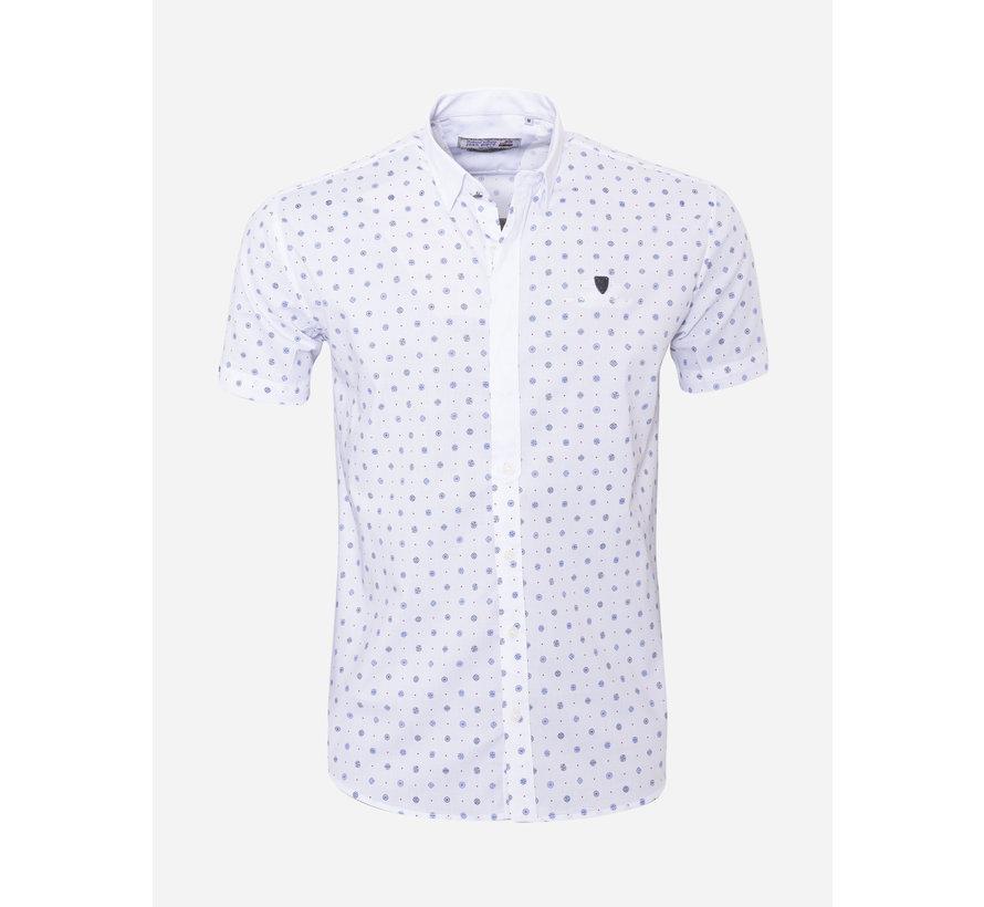 Overhemd Korte Mouw 17Y1465 Wit