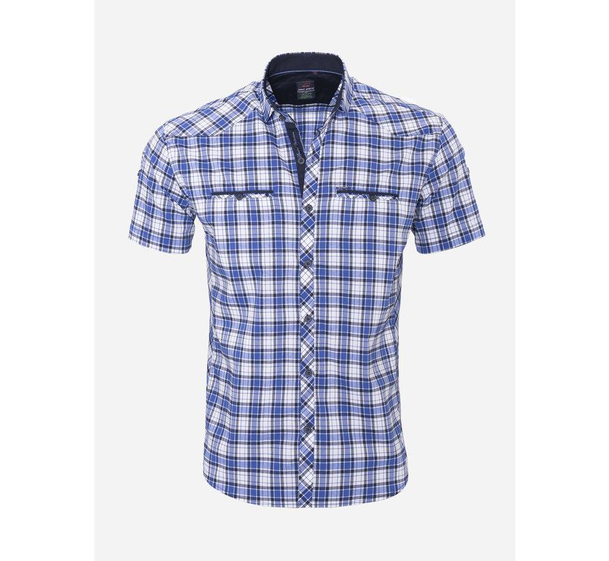 Overhemd Korte Mouw 18Y8533 Wit