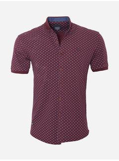 Arya Boy Shirt Short Leeve 18Y8542 Dark Red