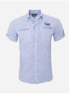 Arya Boy Shirt Short Sleeve  12Y5259 Indigo