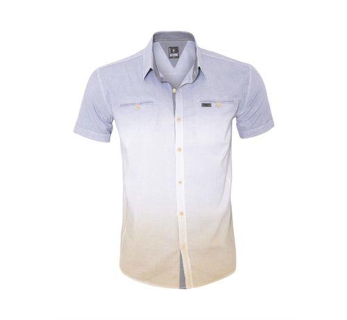 Arya Boy Overhemd Korte Mouw 13Y857 Fume