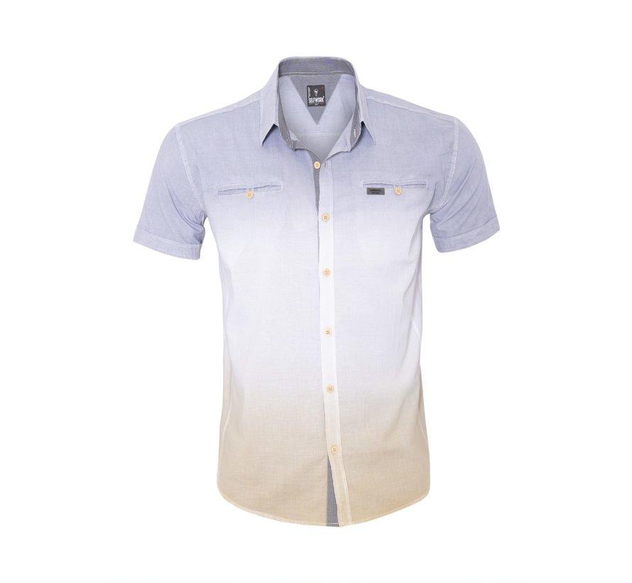 Overhemd Korte Mouw 13Y857 Fume