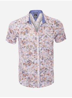 Arya Boy Shirt Short Sleeve  13Y865 Grey