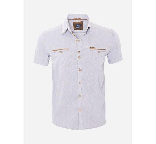 Arya Boy Overhemd Korte Mouw  14Y6417 White
