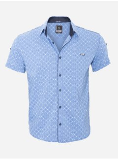 Arya Boy Shirt Short Sleeve  15Y7860 Indigo