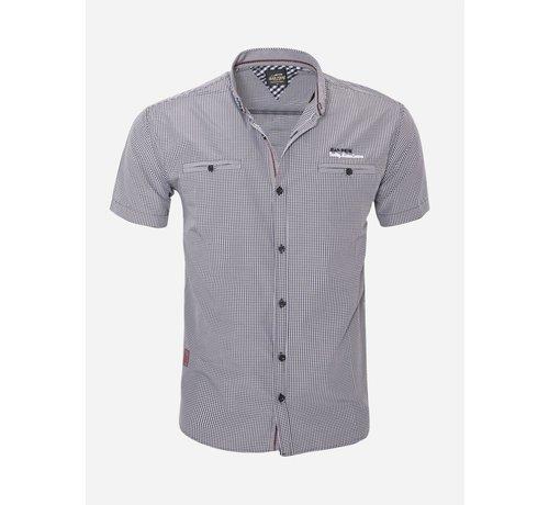Arya Boy Overhemd Korte Mouw  16Y3520 Black