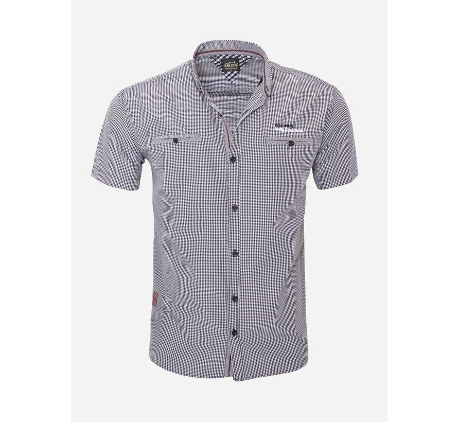 Overhemd Korte Mouw  16Y3520 Black