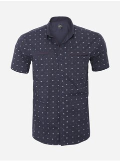 Arya Boy Overhemd Korte Mouw 17Y1427 Navy