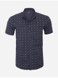Arya Boy Shirt Short Sleeve 17Y1427 Navy