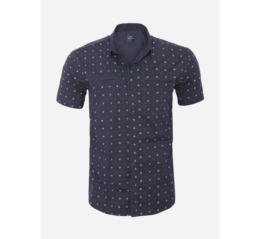 Overhemd Korte Mouw 17Y1427 Navy