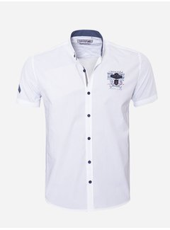 Arya Boy Shirt Short Sleeve  17Y1461 White