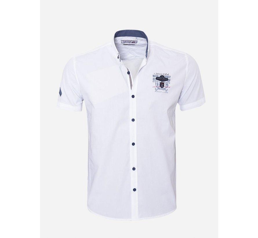 Overhemd Korte Mouw 17Y1461 White