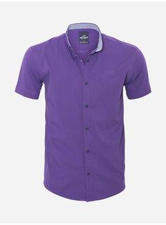 Arya Boy Overhemd Korte Mouw 18Y8501 Purple