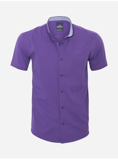 Arya Boy Shirt Short Sleeve 18Y8501 Purple