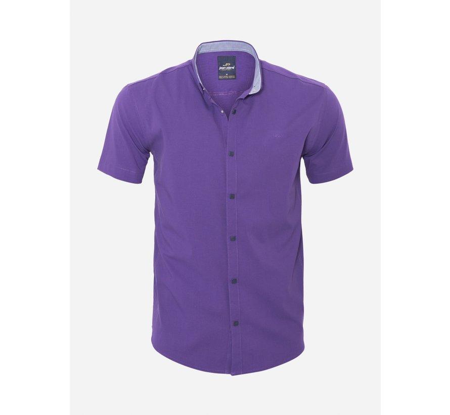 Overhemd Korte Mouw 18Y8501 Purple