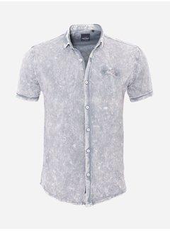 Arya Boy Shirt Short Sleeve  18Y8539 Grey
