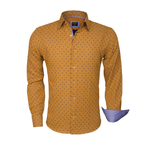 Wam Denim Overhemd  Lange Mouw 75325 Peru