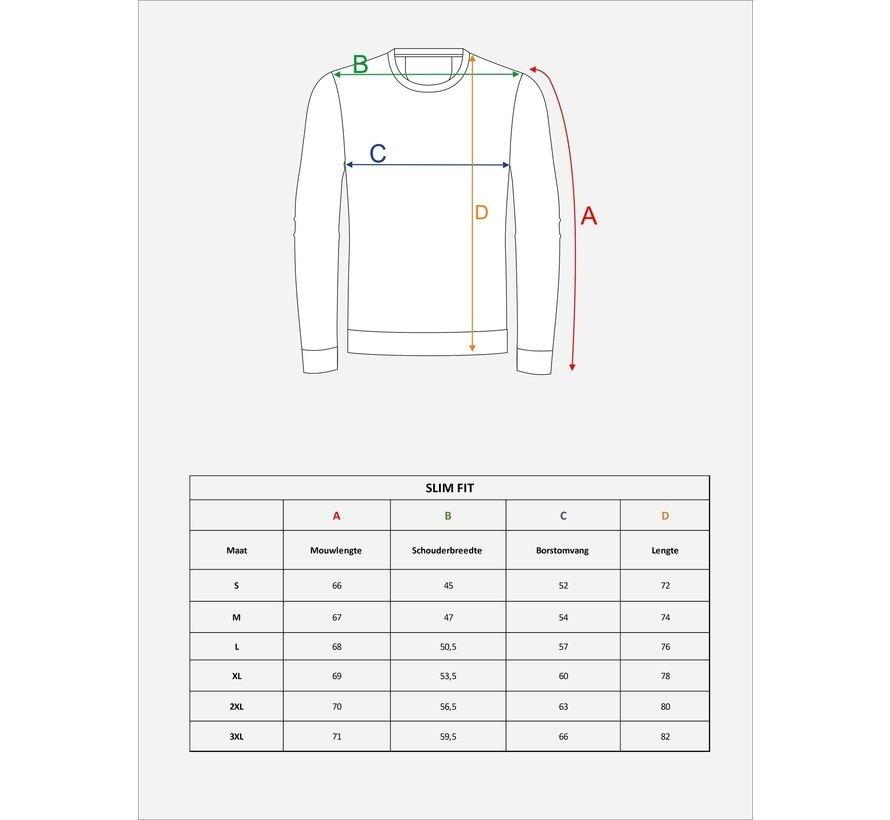 Sweater 76153 Black White
