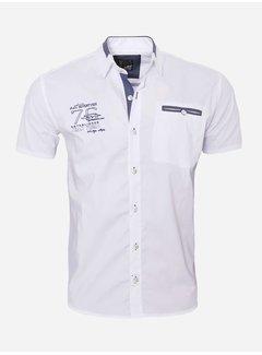 Arya Boy Overhemd Korte Mouw 12Y5250 White