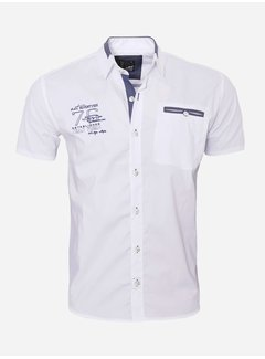 Arya Boy Shirt Short Sleeve  12Y5250 White