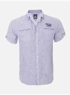 Arya Boy Overhemd Korte Mouw  12Y5259 Navy