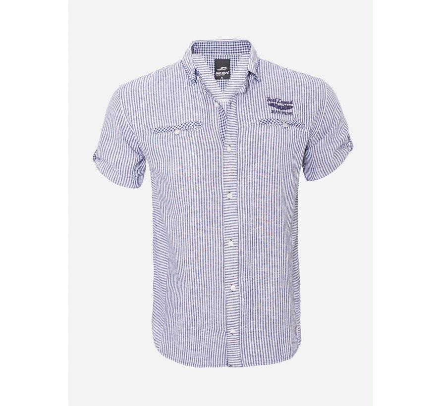 Overhemd Korte Mouw  12Y5259 Navy