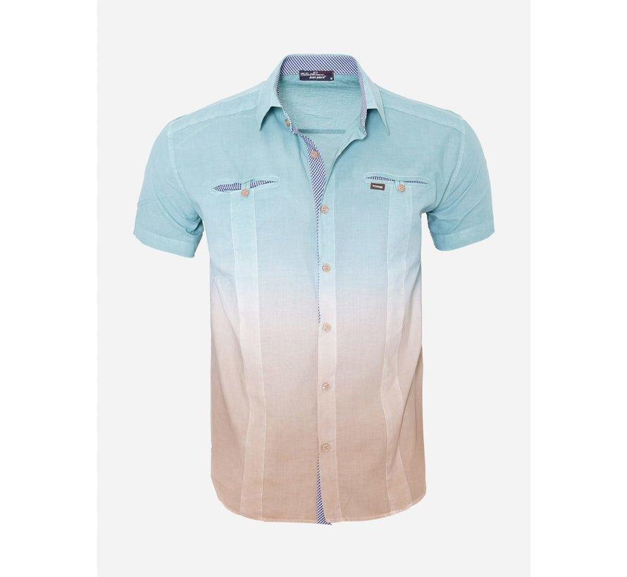 Overhemd Korte Mouw 13Y546 Per Tol
