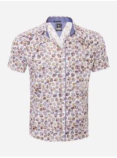 Arya Boy Overhemd Korte Mouw  13Y865 White