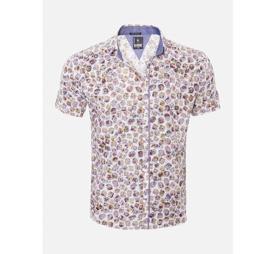 Overhemd Korte Mouw  13Y865 White