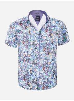 Arya Boy Overhemd Korte Mouw  14Y6484 Turqouise