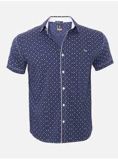 Arya Boy Shirt Short Sleeve  15Y7860 Navy
