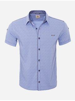 Arya Boy Shirt Short Sleeve   15Y7861 Light Blue