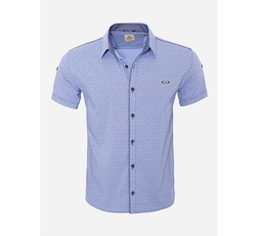 Arya Boy Overhemd Korte Mouw  15Y7861 Light Blue