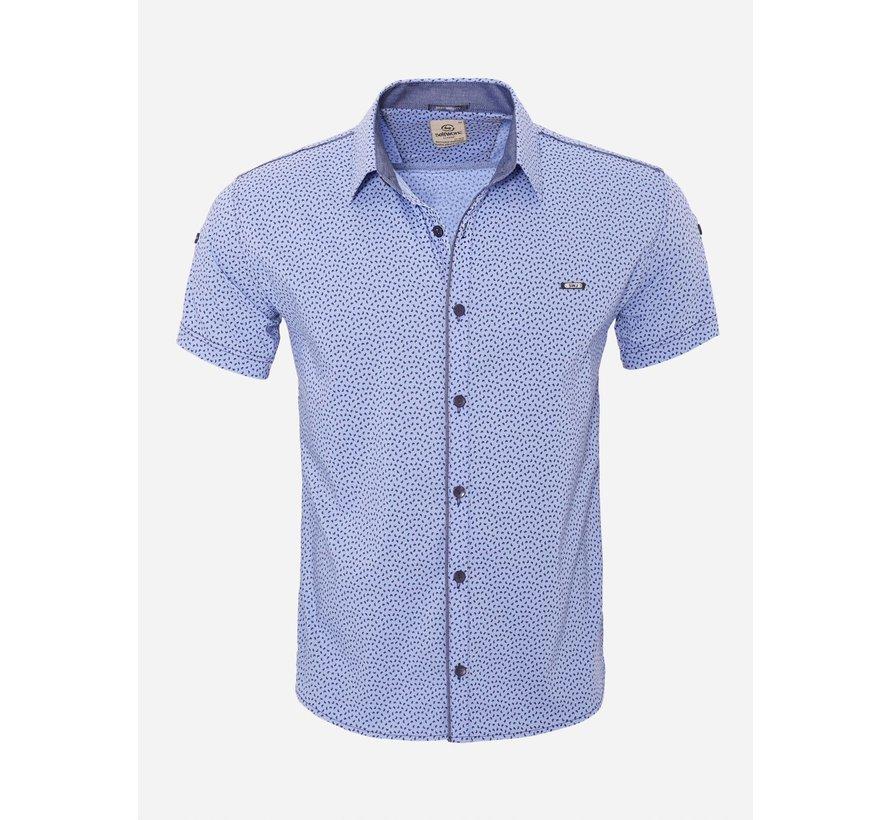 Overhemd Korte Mouw  15Y7861 Light Blue