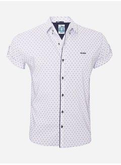 Arya Boy Shirt Short Sleeve   16Y3901 Bat White