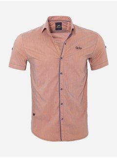 Arya Boy Shirt Short Sleeve  17Y1433 Orange