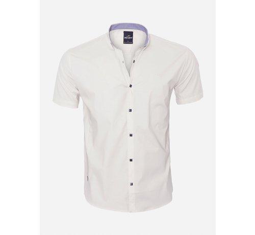 Arya Boy Overhemd Korte Mouw  18Y8501 Beige