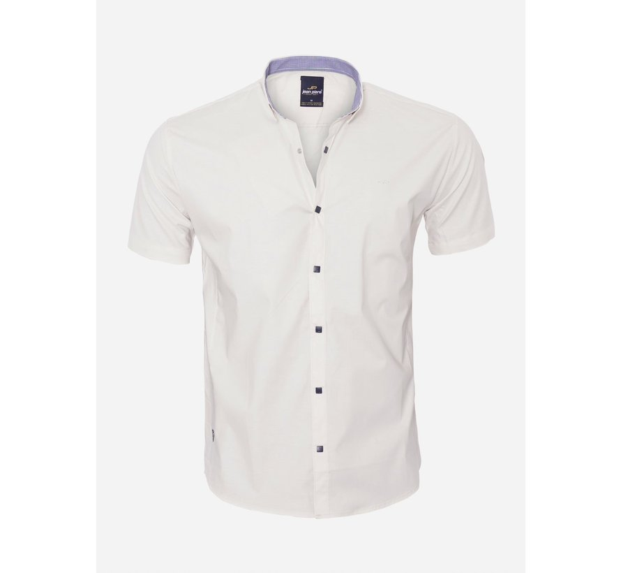 Overhemd Korte Mouw  18Y8501 Beige