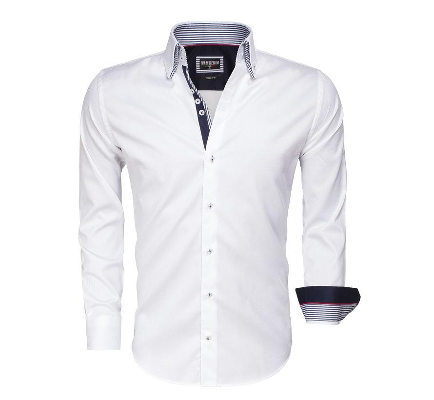 Overhemd Lange Mouw 75480 White